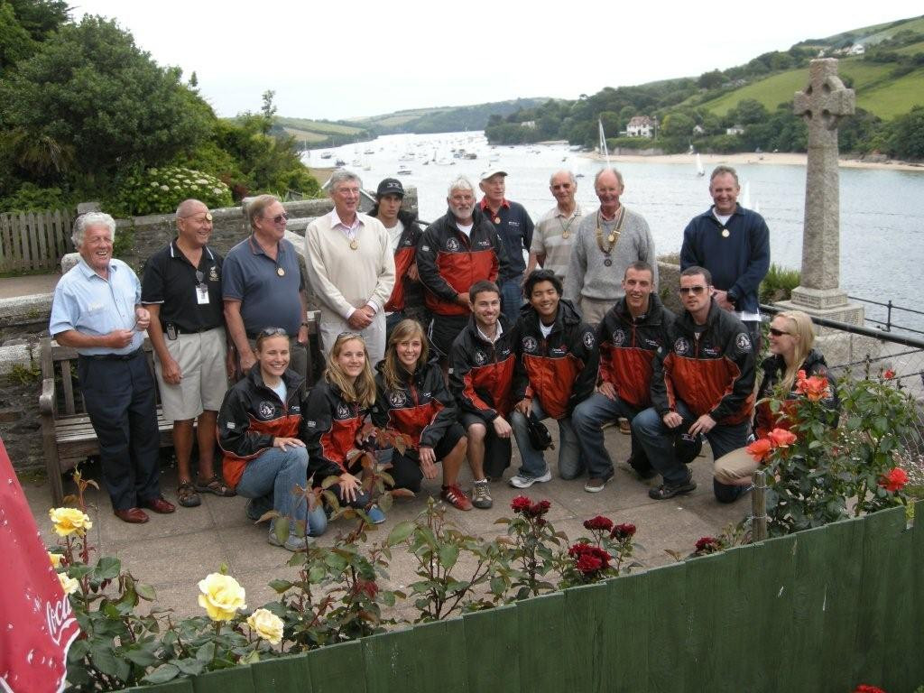 Fellow Rotarians in Salcombe,